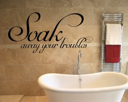Soak Away Your Troubles #1 Sticker