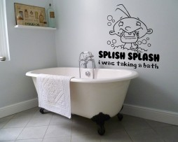 Splish Splash I Was Taking a Bath #1 Sticker