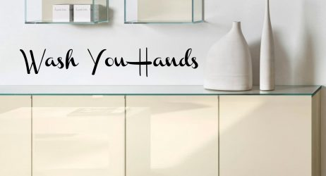 Wash Your Hands #1 Sticker