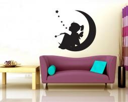 Moon Fairy Sticker