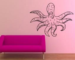 Happy Octopus Sticker