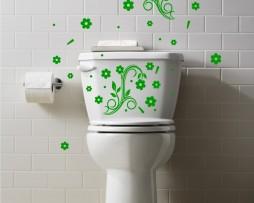 Toilet Design Decal #2