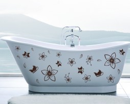 Bathtub Design Decal #13