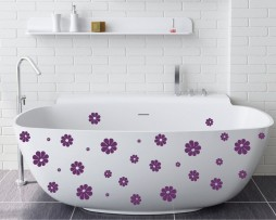 Bathtub Design Decal #19