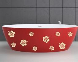 Bathtub Design Decal #21