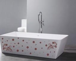Bathtub Design Decal #39