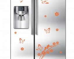 Refrigerator Design Decal #2