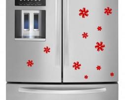 Refrigerator Design Decal #4