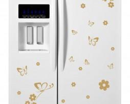 Refrigerator Design Decal #8