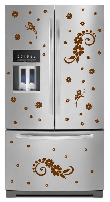 Refrigerator Design Decal #11