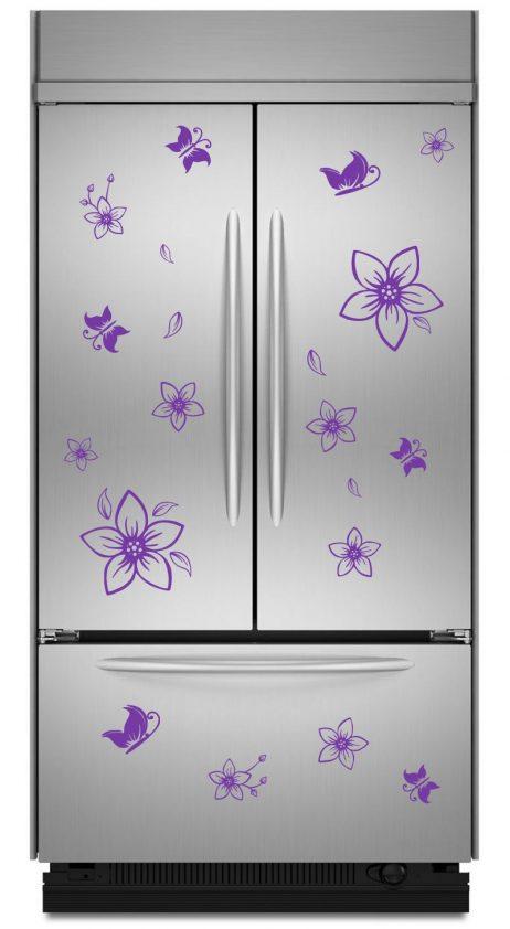 Refrigerator Design Decal #13