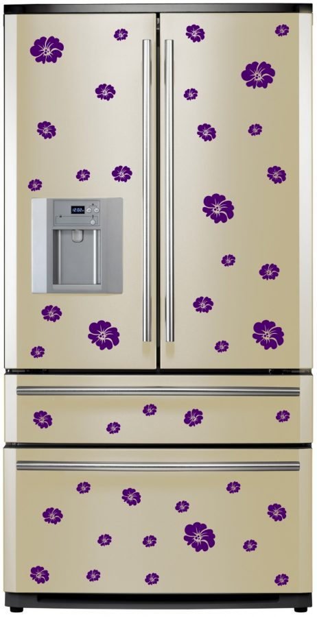 Refrigerator Design Decal #17
