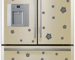 Refrigerator Design Decal #22