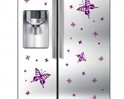 Refrigerator Design Decal #34