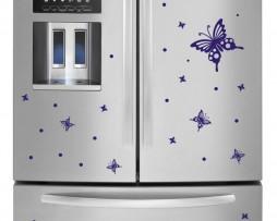 Refrigerator Design Decal #36