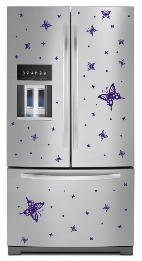 Refrigerator Design Decal #36
