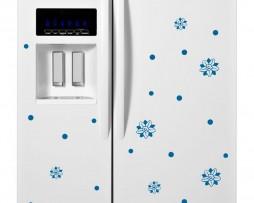 Refrigerator Design Decal #40