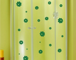 Shower Door Vinyl Decal #19