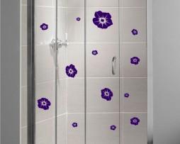 Shower Door Vinyl Decal #24