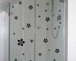 Shower Door Vinyl Decal #26