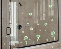 Shower Door Vinyl Decal #28