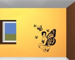 Butterfly Fairy Sticker