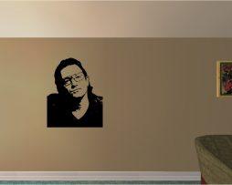 Famous Musician Portrait Sticker #1