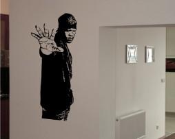 Famous Rapper Sticker #1
