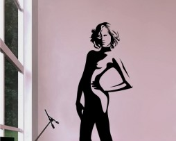 Female Figure Sticker