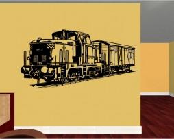 Freight Train Sticker