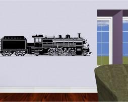 Steam Engine Train Sticker