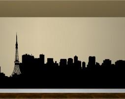 Tokyo Skyline Sticker