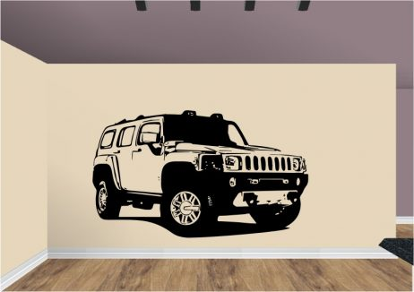 4x4 Vehicle Sticker #2