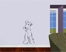 Dog Drawing Sticker