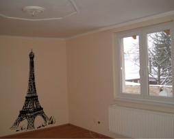Eiffel Tower View Sticker