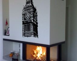 Big Ben Clock Sticker