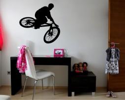 BMX Biker Sticker