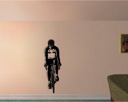 Cyclist Sticker