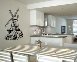Windmill Design Sticker