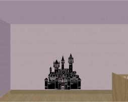 Cartoon Castle Sticker