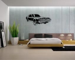 Muscle Car Design Sticker