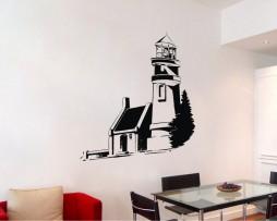 Lighthouse Design Sticker