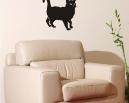 Cat Curly Tail Sticker