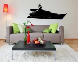 Luxury Yacht Sticker