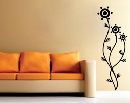 Abstract Flower Design #1 Sticker