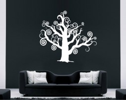 Tree Branch Swirls Sticker
