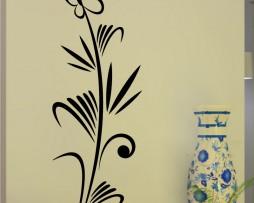 Butterfly Plant Design #6 Sticker