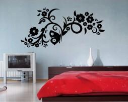 Butterfly Flower Design #13 Sticker
