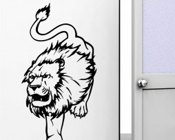 Ferocious Lion #2 Sticker