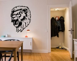 Ferocious Lion #3 Sticker